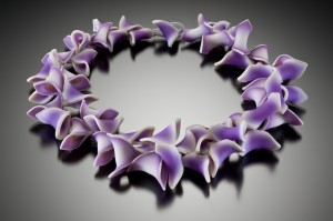 Lindly Haunani Purple Lei