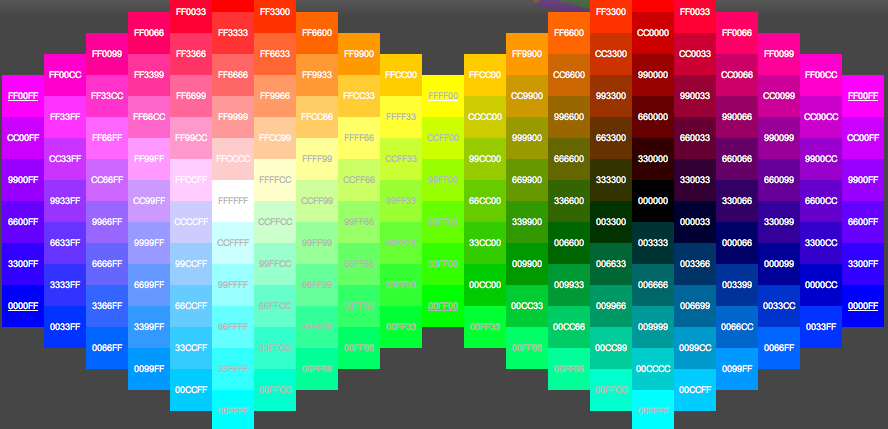 images for gt hexadecimal colors